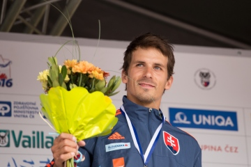 First medal from Prague