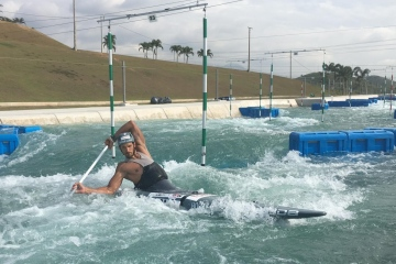 Hot training in Rio!
