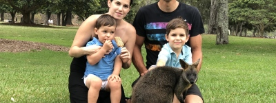 The Beňušs family in Australia