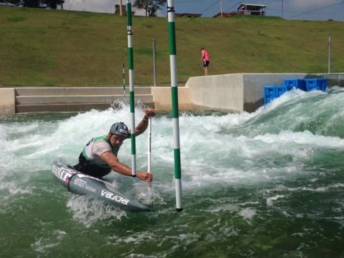 Training in Rio