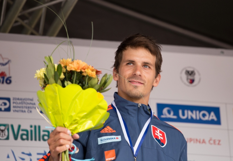 First medal from Prague
