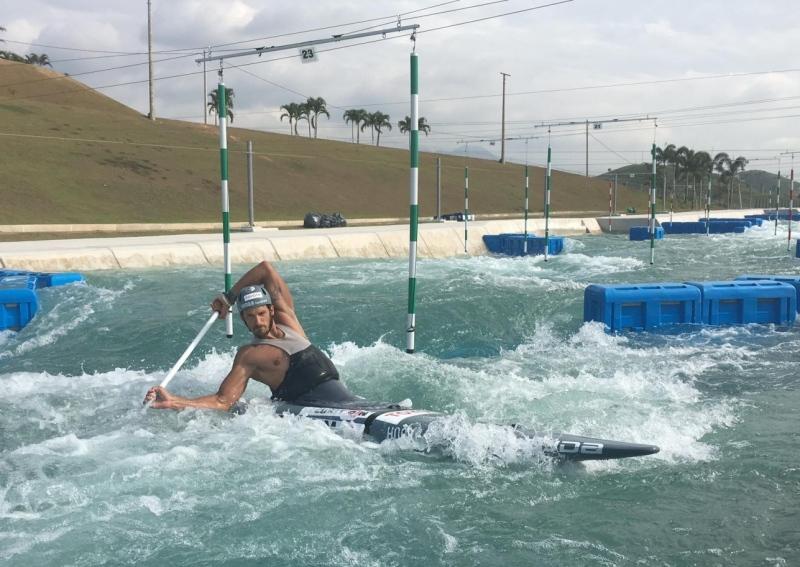 Hot training in Rio!